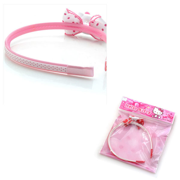 里和Riho Hello Kitty 凱蒂貓蝴蝶結髮箍 髮飾 髮圈 頭箍 三麗鷗 韓國製造