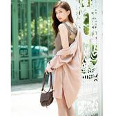 春夏7折[H2O]12針日本清涼紗背後交叉設計吊帶上衣 - 黑/白/咖色 #0680001