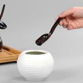 黑檀木茶勺