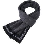 羊毛圍巾-拼色商務簡約針織男披肩4色73wh31【時尚巴黎】