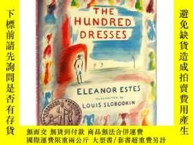 二手書博民逛書店英文原版罕見The Hundred Dresses 一百條裙子