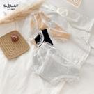 生理褲 少女性感蕾絲花邊內褲純棉襠生理褲透氣日系舒適學生底褲-Ballet朵朵