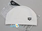 *日光部屋* arena (公司貨)/ARN-6406E-WHT 2WAY 舒適矽膠泳帽
