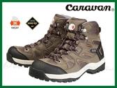 日本Caravan 男款 GORE-TEX 中筒登山健行鞋 C6_02 黃褐 寬楦 中筒 防水透氣 OUTDOOR NICE