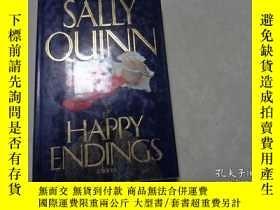 二手書博民逛書店SALLY罕見QUINN, HAPPY ENDINGS, 199