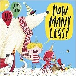 HOW MANY LEGS ? 英文繪本《主題:數數.動物.幽默》