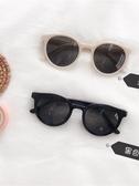 白色墨鏡大框可愛圓臉復古小框墨鏡網紅圓形韓版潮學生太陽眼鏡女 韓國時尚週