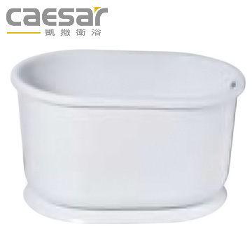 【買BETTER】凱撒浴缸/凱撒衛浴 壓克力強化玻璃纖維6105復古浴缸★送6期零利率★
