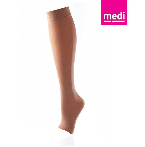 美締 medi 專業醫療彈性襪  機能型小腿襪 cc1.2 膚色、露趾 (單件) 德國進口【杏一】