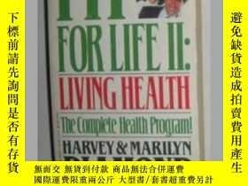 二手書博民逛書店【英語】英文原版書《罕見Fit for Life II 》