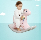 搖搖馬 音樂搖馬兩用加厚兒童塑料寶寶嬰兒幼兒園滑輪玩具 - 歐美韓熱銷