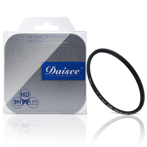 ◎相機專家◎ Daisee DMC SLIM X-HD UV-HAZE 55mm超薄奈米抗刮防靜電保護鏡 澄翰公司貨