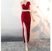 (45 Design高雄實體店面)  定製七天 長禮服 媽媽禮服 大尺寸定做敬酒服新娘晚禮服23