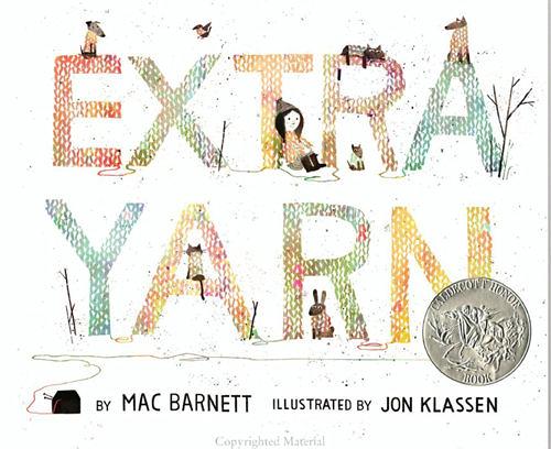 【麥克書店】EXTRA YARN (神奇的毛線) /英文繪本《主題: 想像.分享. 愛》