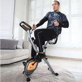 雷克XBIKE多功能動感單車家用超靜音磁控健身車折疊室內健身器材QM 莉卡嚴選