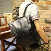 韓版後背包 多用男斜背包《印象精品》y1226