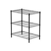 (組)特力屋烤漆三層架 -黑 75x46x80CM