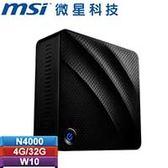 MSI微星 Cubi N 8GL-016TW-BN40004G03X10MBF 迷你電腦