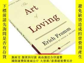 二手書博民逛書店英文原版罕見The Art of Loving 愛的藝術 生活自