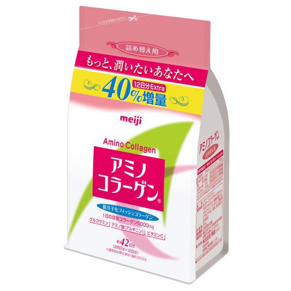 明治 膠原蛋白粉增量版-補充包 (300g,單袋) 日本 meiji【杏一】