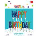 生日蠟燭13入-生日快樂