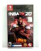 任天堂 NS switch 美國職業籃球 NBA 2K20 有中文 實體版 (現貨)