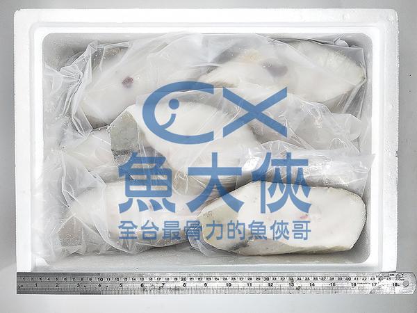 1D6B【魚大俠】FH143特級大比目魚切片(全無洞薄冰15/16片/6KG/件)#FARL