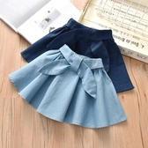 新款童裝2019女童牛仔裙超洋氣半身裙百搭公主裙女寶寶個性裙子潮