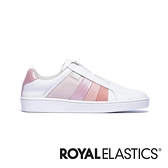 ROYAL ELASTICS Prince Albert 白粉真皮時尚休閒鞋 (女) 91494-110