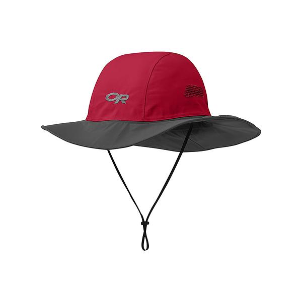 OR SEATTLE SOMBRERO GORE-TEX 防水圓盤帽 紅木/深灰