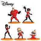 【正版授權】超人特攻隊 迷你公仔 模型 超能先生 彈力女超人 巴小飛 皮克斯 Pixar --- 855821