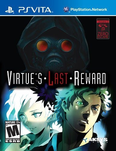 PSV Zero Escape: Virtue s Last Reward 極限脫逃 ADV 好人不長命(美版代購)