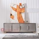 [紅蘋果傢俱] 美式 後現代 輕奢 ML680D電視櫃 地櫃 高低櫃 邊櫃 儲物櫃 收納櫃 客廳
