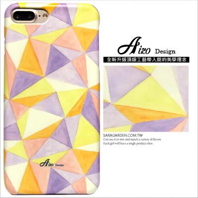 客製化 手機殼 iPhone 7 Plus 保護殼 三角圖騰