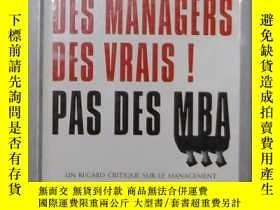 二手書博民逛書店原版罕見Des managers,des vrais ! Pas