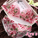 內衣 水波花卉  浪漫潑墨花朵極穩定多排勾 粉色 - Ayu's