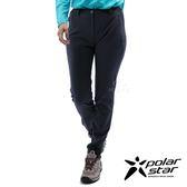 PolarStar 女 防潑內刷毛保暖長褲『灰藍』P18420 戶外│釣魚│休閒褲│釣魚褲│登山褲│耐磨褲