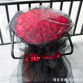 生日玫瑰花束康乃馨鮮花 NMS漾美眉韓衣
