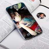 Samsung Galaxy J N075T 手機殼 軟殼 保護套 刺青少女