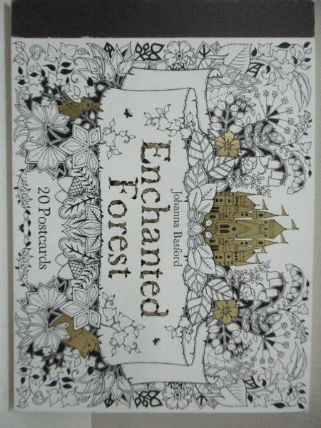 【書寶二手書T4/少年童書_CTH】Enchanted Forest Postcards: 20 Postcards_Johanna Basford
