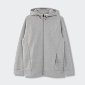 REEBOK DMX TR 男裝 外套 連帽 休閒 寬鬆 透氣 灰【運動世界】GJ3704