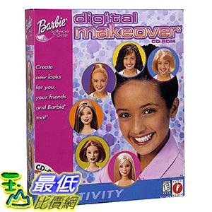 [106美國暢銷兒童軟體] Barbie Digital Makeover - PC