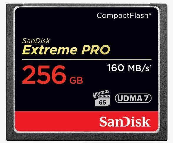 【公司貨】Sandisk Extreme PRO CF 256Gb 讀160mb/s  寫150mb/s 1067X UDMA7 記憶卡 256G