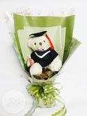 娃娃屋樂園~大畢業熊學士熊花束(熊熊30CM) 每束750元/畢業熊/學士熊/畢業拍照花束