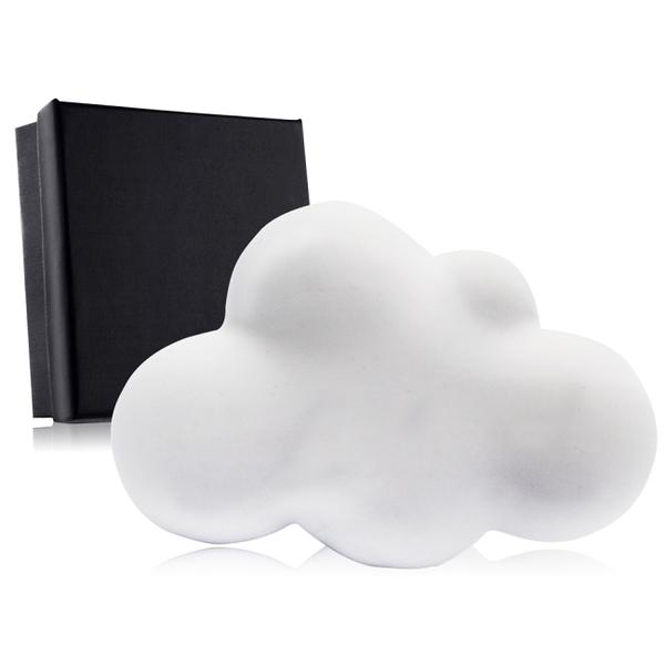O'Pretty 歐沛媞 室內/車用 香氛擴香石擺飾-白色雲朵