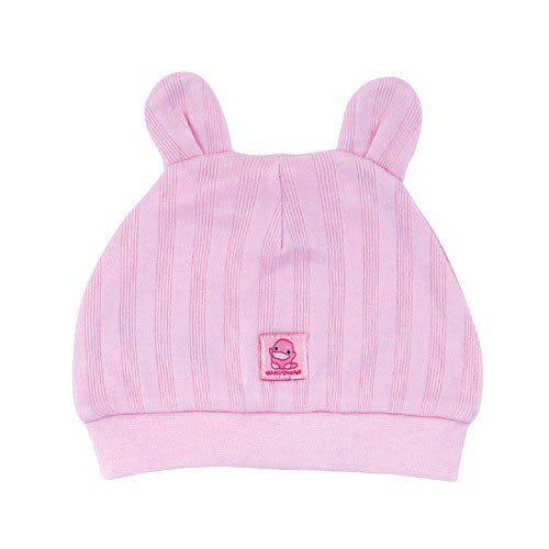 【奇買親子購物網】酷咕鴨KU.KU. 跳跳嬰兒帽(藍色/粉色)