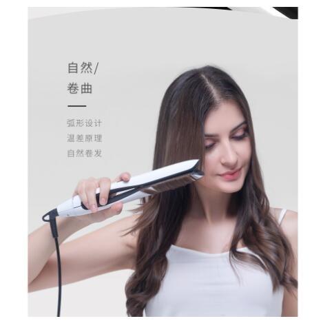 現貨110v捲髮器THEO電捲髮棒直捲兩用夾板燙直髮器迷你直板夾大捲內扣劉海不傷髮110v618購