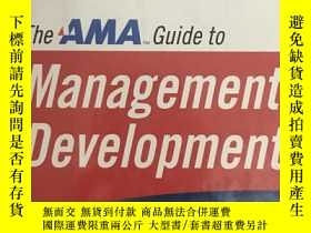 二手書博民逛書店AMA罕見Guide to Management Develop