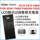 ROWA 樂華 FOR SONY F55...