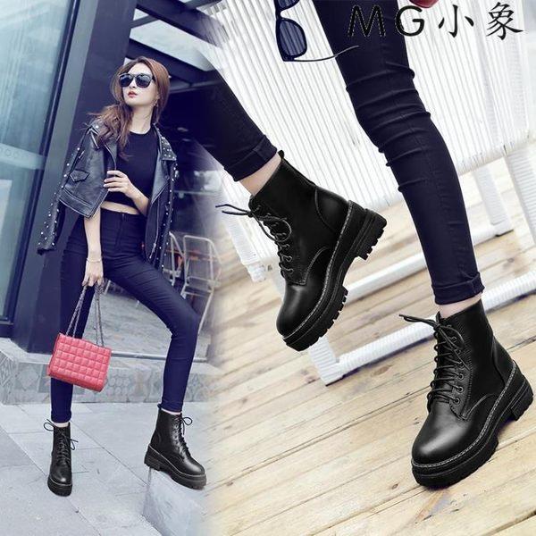 MG 馬丁鞋-馬丁靴韓版百搭原宿英倫風鞋